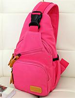 Women-Casual-Canvas-Shoulder Bag-Beige / Blue / Red / Fuchsia
