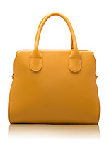 Women-Formal / Casual / Office & Career / Shopping-PU-Tote-White / Blue / Yellow / Red / Black