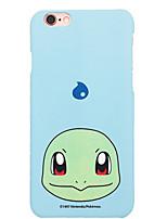 poche petit monstre squirtle iphone 6p / 6splus matage couverture rigide téléphone portable 5,5 pouces