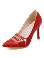 Women's Shoes Leatherette the fpur seasons Heels / Basic Pump / Pointed Toe Heels Office & Career / Party & Evening