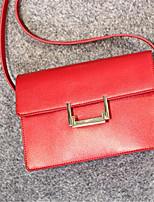 Women-Formal-PU-Shoulder Bag-Pink / Red / Black
