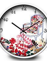 Simple Sofa Living Room Bedroom Metal Clock Personality Creative Wall Clock