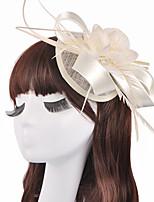 Dame / Blomsterpige Linfrø Headpiece-Bryllup / Spesiell Leilighet fascinators 1 Deler 13.5*13.5*7cm