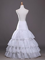 Slips(Polyester,Weiß) -100cm-4-A-Linie