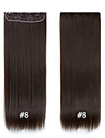 Best Quality Straight Synthetic Clip In Hair Extensions  24