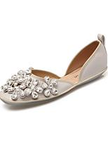 Women's Shoes Flat Heel Comfort / Round Toe / Closed Toe Sandals Dress Black / Pink / Gray