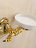 Soap Dish / Polished Brass / Wall Mounted /15*8*10 /Brass /Antique /15 8 0.67