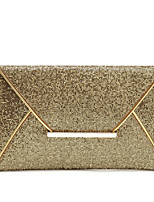 Women-Event/Party-Metal / leatherette-Evening Bag-Gold / Brown / Black