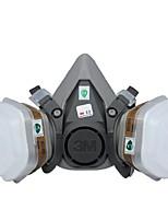 3m6200 máscara de gas máscara contra máscara de pintura en aerosol contra el polvo tóxico especial de carbón activado máscara de