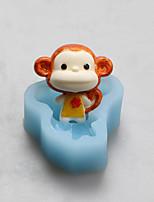 Monkey Zodiac Chocolate Silicone Molds,Cake Molds,Soap Molds,Decoration Tools Bakeware