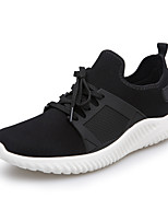 Men's Shoes Athletic/Casual Microfibre Fashion Sneakers Black/Blue