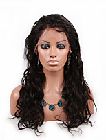 EVAWIGS Instock 8-26 Inch Brazilian Virgin Hair Wig Nature Wave Wig  Color 1B Glueless Lace Front Wig for Fashion Women