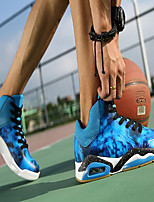 Men's Shoes Synthetic Athletic Sneakers Athletic Sneaker Flat Heel Lace-up Black / Blue / Red