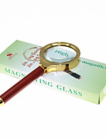 Amplification 7X 45mm Optical Magnifying Glass Handheld Reading Magnifier