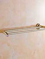 Towel Bar / Polished Brass / Wall Mounted /60*15*10 /Brass60 15 0.878