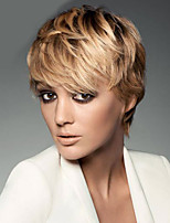 Blonde Color Cosplay Wigs Heat Resistant Synthetic Wholesale Short Curly Party Cosplay Wig