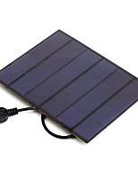 sortie USB 3.5w 5v silicium monocristallin chargeur de panneau solaire pour iphone 6s Samsung huawei (de sw3505u)