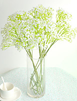 Hi-Q 1Pc Decorative Flowers Real Baby Breath For Wedding Home Table Decoration Artificial Flowers