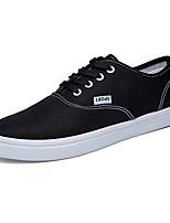 Scarpe da uomo-Sneakers alla moda-Casual-Di corda-Nero / Blu / Bianco