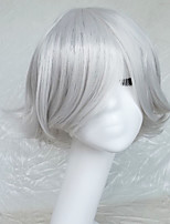 Cosplay Wig Colour Double Sliver Cartoon Characters Become Warped Wig 10 Inch