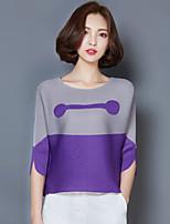 2016 Summer Women New Hit Color Loose Folds T-Shirt
