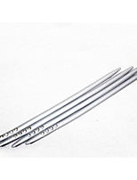 Automotive Supplies ABS Plating Bumper Strip Thickened With Diamond / Anti-Rub Metal Strip 4 Pcs