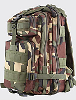 20 L Backpack Camping & Hiking Outdoor Multifunctional Green / Brown / Camouflage Nylon Other