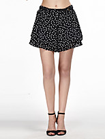 Heart Soul® Women's Mid Rise Shorts Black Casual Pants-11AA37500