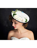 Women's Flax Headpiece-Special Occasion Fascinators 1 Piece Clear