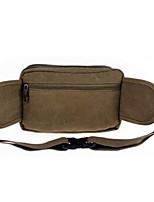 Men-Formal-PVC-Waist Bag-Green / Khaki