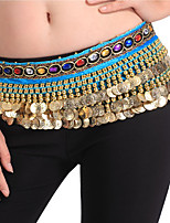 Dance Accessories Hip Scarves Women's Performance Spandex Sash1 Piece Belly Dance Sleeveless Dropped Belt