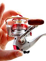 Molinetes de Pesca Molinetes Rotativos 5.5 6 Rolamentos Trocável Pesca Geral-BASIC 2000