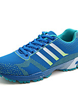 Men's Shoes Casual Tulle Fashion Sneakers Black / Blue / Red / Royal Blue