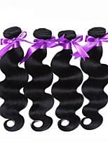 6A Grade Unprocessed Indian Remy Hair  Extension Hair Weft 3 bundles Body Wave Indian Hair Weft