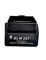 mini-détecteur automatique obd2 v2.1 ELM327 Bluetooth noir