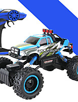 Buggy HL 4DW 1:14 Brush Electric RC Car 5KM/H 2.4G Blue Ready-To-GoRemote Control Car / Remote Controller/Transmitter / Battery Charger /