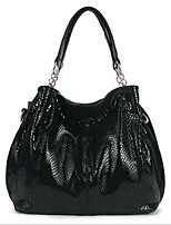 Women-Formal-PU-Shoulder Bag-Black