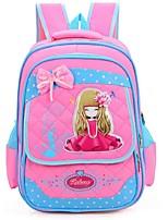 Women-Casual-Nylon-Backpack-Pink / Blue / Fuchsia