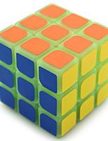 Relievers Stress / Cubes Magiques / Puzzle Toy IQ Cube Yongjun Trois couches Noctilumineux / Niveau professionnel Cube de vitesse lisse