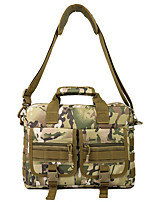 30 L Laptop Pack / Shoulder Bag Camping & Hiking Outdoor Multifunctional Black / Brown / Army Green Nylon Other