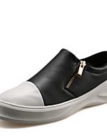 Men's Fashion Casual Shoes EU39-45 Microfiber Board Flats Sneakers Slip-ons Shoes