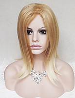 In Europe And The United States Golden Ms Ramp Straight 16 Inch Long Hair Wigs