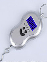 Portable Electronic Scale Gourd Portable Scale Of 50 Kg / 10 G Blu-Ray/No Backlight