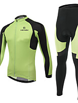 KEIYUEM Cycling Clothing Sets/Suits Unisex Bike Breathable / Quick Dry / Wearable / 3D Pad / Compression / Comfortable /