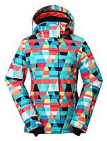 Gsousnow ski jacket ladies women girls female brands/ outdoor windproof waterproof breathable ski-wear