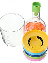 Kitchen Tool Grater Juicer Grinder Funnel Egg Separator 8 in 1 Bottle Set