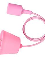 youoklight красочные силиконовые подвесные светильники держатель e27 творческий подвесные светильники поделок дизайн современной моды