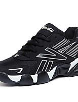 Men's Shoes PU Casual Sneaker Flat Heel Lace-up Black / Blue / Gray EU39-43