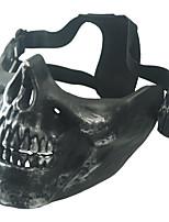 máscara protectora esqueleto metálico