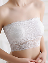 Women's  Lace with chest pad tube top